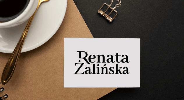 Renata Zalinska new logo